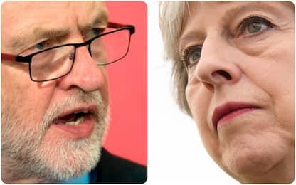Uk, una settimana al voto: May e Corbyn sempre più vicini nei sondaggi