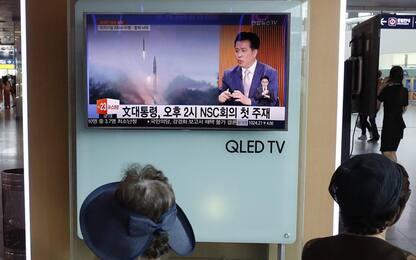 Ennesima provocazione di Pyongyang: lancio multiplo di missili