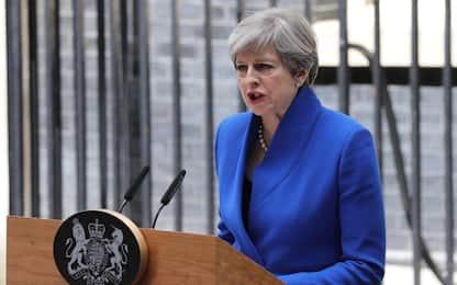 """Elezioni Regno Unito, May: """"Farò nuovo governo per iniziare Brexit"""""""
