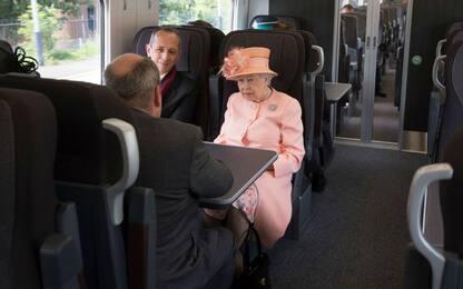 primo viaggio reale in treno
