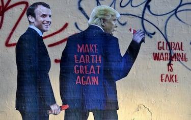 Trump-Macron-StreetArt-Clima-Lapresse1