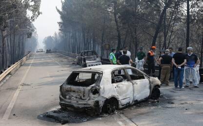 Portogallo, incendio a Pedrogao Grande