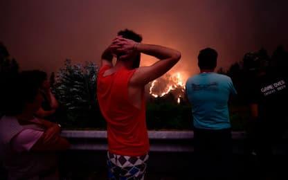 Portogallo, il giorno dopo l'incendio