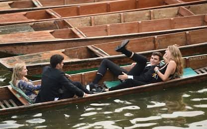 Fine anno a Cambridge: tuffi nel fiume