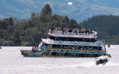 Colombia, affonda nave turistica: 6 morti e 16 dispersi