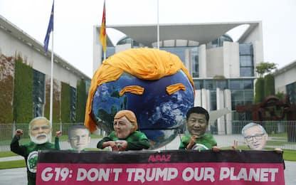 Protesta ambientalista contro Trump