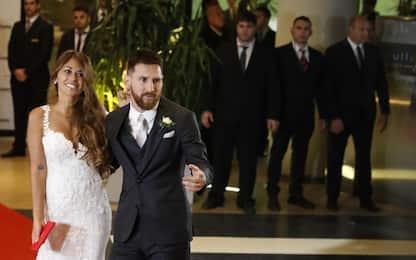 Le nozze di Messi e Antonella: una promessa fatta vent'anni fa. FOTO