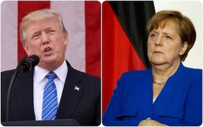 """Telefonata Trump-Merkel: """"Voglio aiutare la cancelliera per il G20"""""""