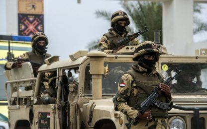 """Egitto, attacco in Sinai: """"Uccisi più di 40 terroristi islamici"""""""