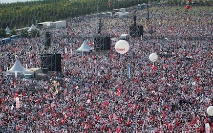 Istanbul: manifestazione contro Erdogan