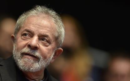 """Brasile, Lula dal carcere: """"Mi ricandido alle elezioni"""""""