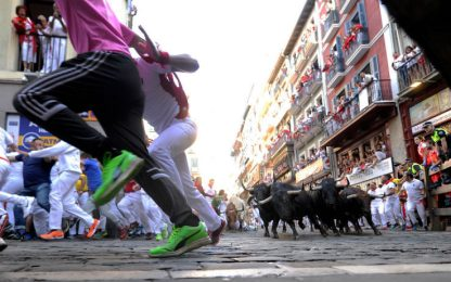 Pamplona, la corsa di San Fermin. FOTO