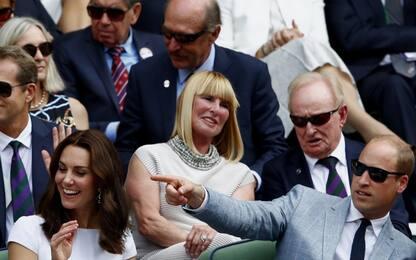 Wimbledon: vip sugli spalti