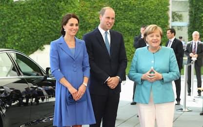 Visita di William e Kate a Berlino
