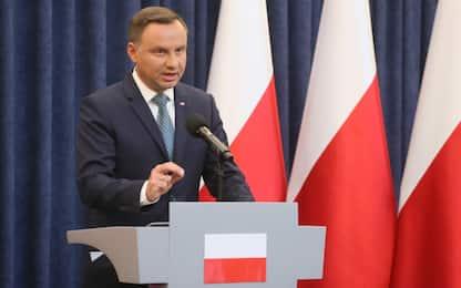 Polonia, il presidente Duda respinge la riforma della giustizia