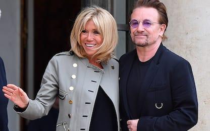Parigi, Bono vox all'Eliseo