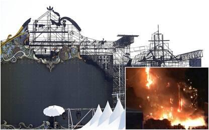 Spagna, incendio sul palco di un festival musicale: 22mila evacuati