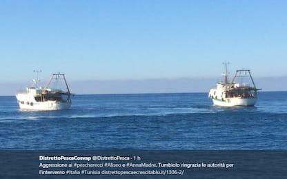 Due pescherecci di Mazara del Vallo assaltati tra Libia e Tunisia