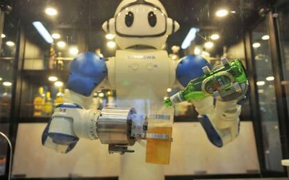 Cina, un robot cameriere
