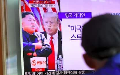 """Nord Corea: """"Cancelleremo gli Usa"""". Trump: """"Pronti a colpire"""""""