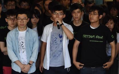In carcere tre leader protesta ombrelli