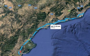 mappa_barcellona_alcanar_cambrils
