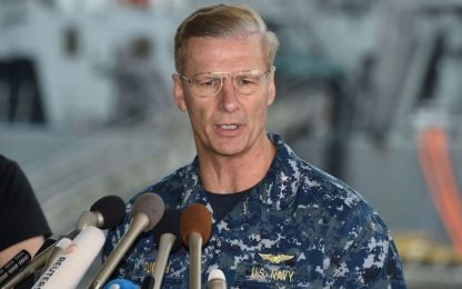 Usa, rimosso il comandante della settima flotta per i troppi incidenti