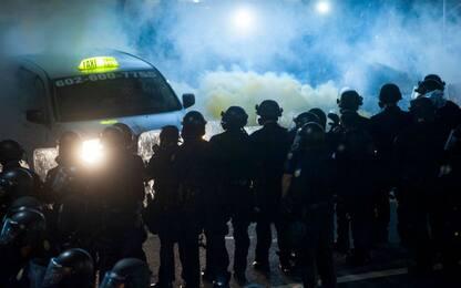 Disordini durante le proteste anti-Trump