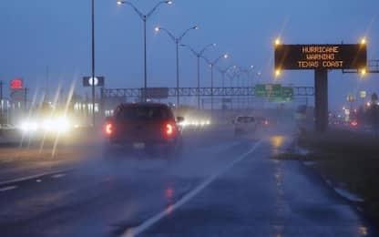 Uragano Harvey vicino al Texas