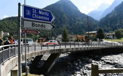 Svizzera, frana in Val Bregaglia: danni a case e strade