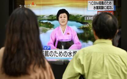 """Corea del Nord testa bomba a idrogeno. Trump: """"Stato canaglia"""""""