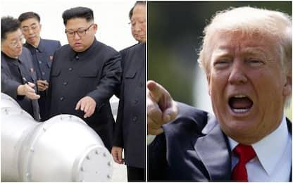 """Corea del Nord, Trump: """"Pronti a usare anche l'arsenale nucleare"""""""
