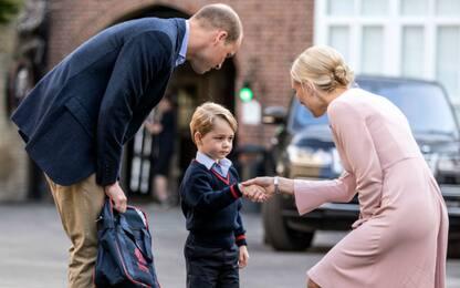 Il primo giorno di scuola del Principe George