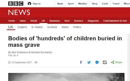 Scozia: scoperta fosse comune in orfanotrofio, 400 corpi bimbi