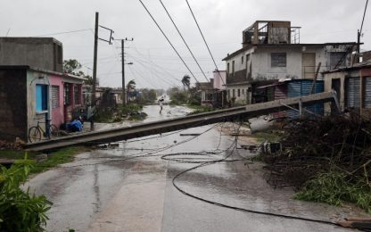 L'uragano Irma devasta Cuba