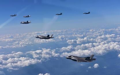 """Corea del Nord, Seul: """"Jet Usa hanno simulato un bombardamento"""""""
