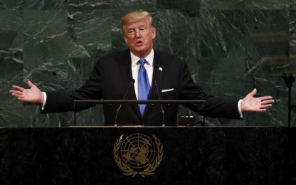 "Trump all'Onu: ""Se la Corea del Nord ci attacca, la distruggeremo"""