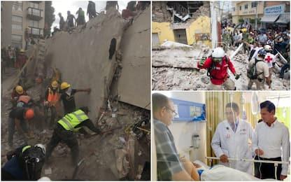 Terremoto Messico, bilancio sale a oltre 250 morti: si scava ancora