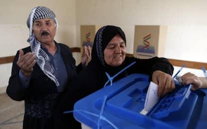Iraq, 92% ha votato sì al referendum sull'indipendenza del Kurdistan