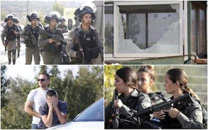 Cisgiordania, tre israeliani uccisi in un attacco. Morto l'assalitore