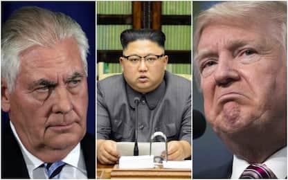 """Corea del Nord, Trump: """"Tillerson spreca tempo con Rocket Man"""""""