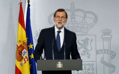 Indipendenza Catalogna, Rajoy al Senato: destituire Puigdemont