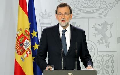 """Catalogna, Rajoy: """"Puigdemont confermi se ha dichiarato la secessione"""""""