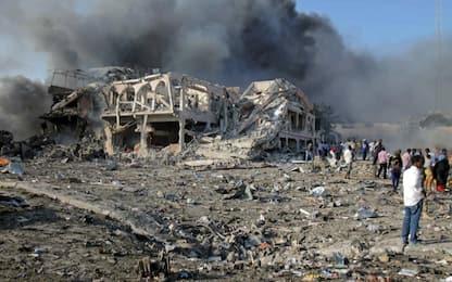 Somalia, due esplosioni a Mogadiscio: almeno 10 morti