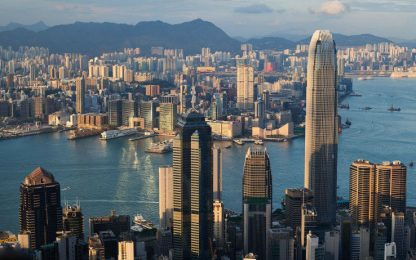 Hong Kong, grattacielo venduto a cifra record di 4,36 miliardi di euro