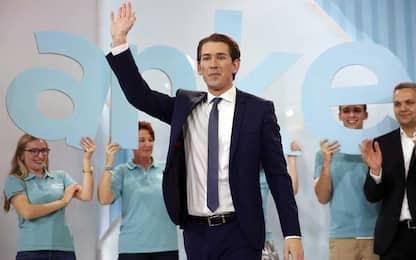 Elezioni Austria, svolta a destra: cosa cambia con la vittoria di Kurz