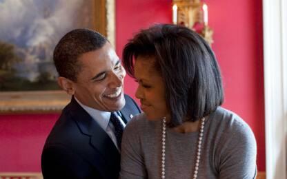 Obama e Michelle ballano scatenati al concerto di Beyoncé e Jay-Z