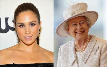 Il principe Harry presenta Meghan Markle alla regina Elisabetta