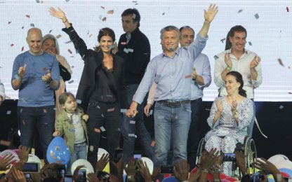 Argentina, Mauricio Macri stravince le elezioni di metà mandato