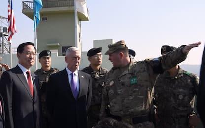 """Nord Corea, segretario difesa Usa: """"No guerra ma denuclearizzazione"""""""